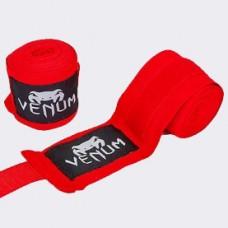 Бинты боксерские  VENUM VL-5778-R (3,5 метра, красные)