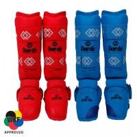 Защита голени и стопы для Каратэ Daedo WKF