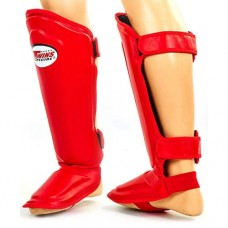 Защита для ног ММА, Тайский бокс кожа TWINS SGL-10