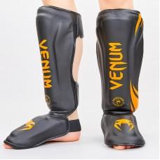 Защита для голени и стопы PU VENUM BO-8356-BKO