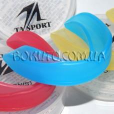 Капа TA-SPORT одночелюстная в круглой коробке