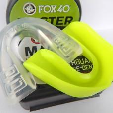 Капа боксерская одночелюстная в футляре BO-5917 FOX 40 MASTER