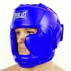 Шлем боксерский с полной защитой PU ELAST BO-3954-B