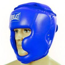 Шлем боксерский с полной защитой PU ELAST BO-4299-B