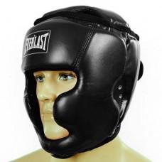 Шлем боксерский с полной защитой PU ELAST BO-4299-BK