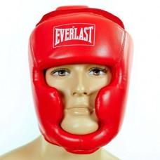 Шлем боксерский с полной защитой PU ELAST BO-4299-R