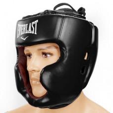 Шлем боксерский с полной защитой FLEX ELAST BO-5229-BK