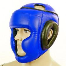 Шлем боксерский с полной защитой Маска Лев Стрейч UR LV-4294-B