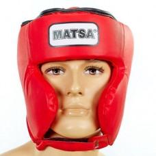 Шлем боксерский в мексиканском стиле PVC MATSA ME-0145-PVC