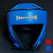 Шлем Pankration кожа соревновательный
