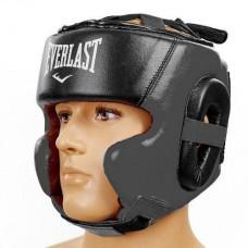 Шлем боксерский кожаный в мексиканском стиле EVERLAST BO-5241