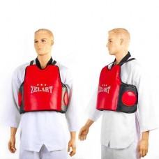 Защита корпуса (жилет) тренера PU ZEL ZB-8024