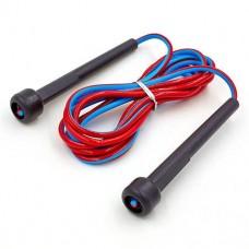 Скакалка с PVC жгутом FI-3515 (l-2,6м, d-5мм, цвета в ассортименте)