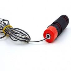 Скакалка скоростная с подшипником и PVC жгутом FI-5103 (l-2,55м, d-5мм)