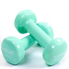 Гантели для фитнеса с виниловым покрытием Beauty (2* 1 кг) TA-5225-1