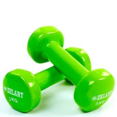 Гантели для фитнеса с виниловым покрытием Beauty (2* 3кг) TA-5225-3