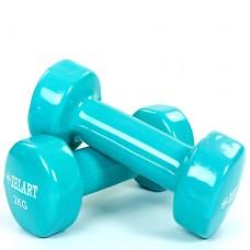 Гантели для фитнеса с виниловым покрытием Beauty (2*2кг) TA-5225-2(T)