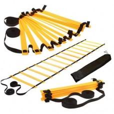 Координационная лестница дорожка для тренировки скорости 3м (6 перекладин) C-4893 (р-р 3мx0,52мx4мм)