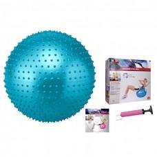 Мяч для фитнеса  массажный 75см Body Sk BB-003ABL-30