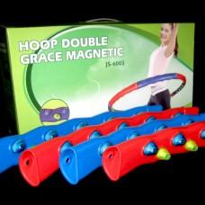 Обруч массажный Hula Hoop JS-6003 DOUBLE GRACE MAGNETIC (1,5кг, пластик, 8 секций, d-98см, с магнит)