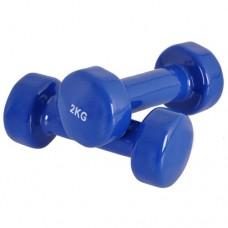 Гантели для фитнеса 2 кг
