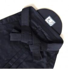 Хакама Bokuto Deluxe Hinode темно-синяя смесовая