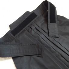 Хакама Bokuto смесовая черная на липучке