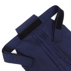Хакама Bokuto смесовая тёмно-синяя на липучке