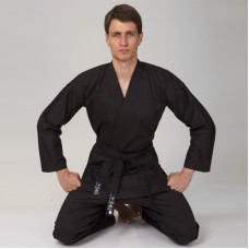 Кимоно для карате чёрное MATSA