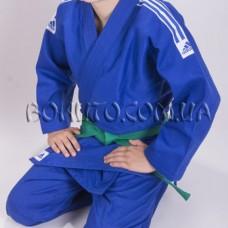 Кимоно для дзюдо синее Adidas Club J350