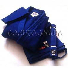 Кимоно для дзюдо синее Sfjam Noris Tiger White Excellence