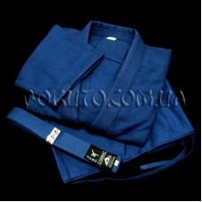Кимоно плетёное синее MATSA