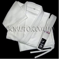 Кимоно плетёное белое MATSA