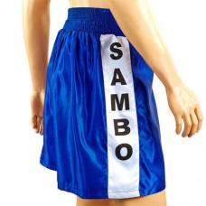 Шорты для самбо синие MA-5311-B