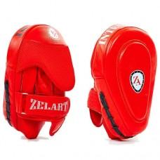 Изогнутые лапы кожаные (2шт.) ZEL ZB-6102