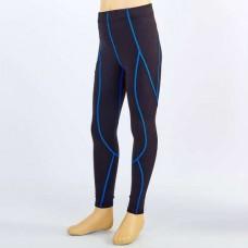 Компрессионные штаны подростковые  для спорта LD-1202T-B