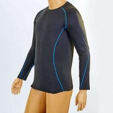 Компрессионная подростковая футболка с длинным рукавом LD-1001T-B
