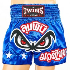 Шорты для тайского бокса TWINS TBS-02-BU