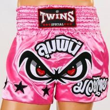 Шорты для тайского бокса TWINS TBS-02-PN