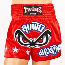 Шорты для тайского бокса TWINS  TBS-02-RD