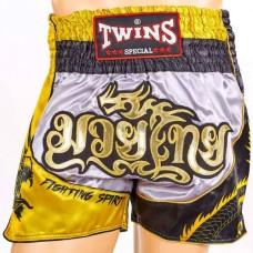 Шорты для тайского бокса TWINS TBS-DRAGON-1