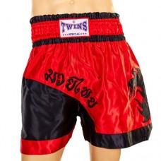 Шорты для тайского бокса TWINS ZB-6138-R