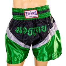 Шорты для тайского бокса TWINS ZB-6142-G