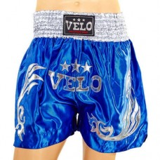 Шорты для тайского бокса VELO ULI-9200-B