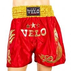 Шорты для тайского бокса VELO ULI-9200-R