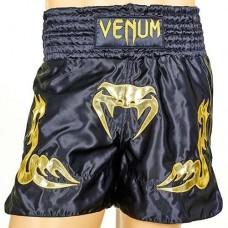 Шорты для тайского бокса VENUM INFERNO CO-5807-BKG